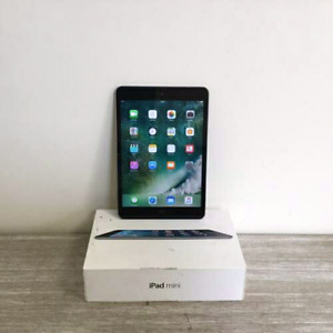 Unlocked 100% Original iPad mini,16GB;+4G  boite!!