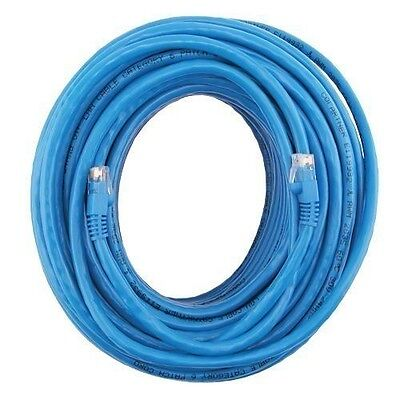 Fosmon 200 Ft Cat5e Ethernet High Speed Internet Rj45 Router Lan Cable Cord Plug