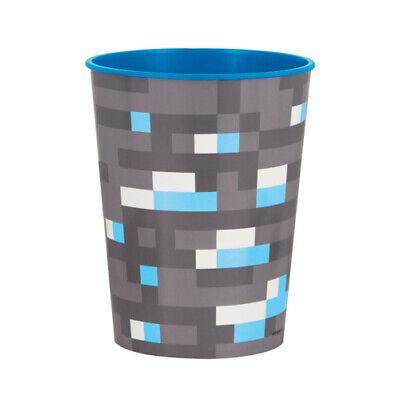 MINECRAFT REUSABLE KEEPSAKE CUPS (2) ~ Birthday Party Supplies Plastic Favors