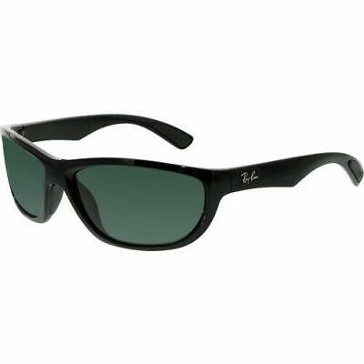 Ray Ban RB4188 601/71 63 Active Sport Sunglasses Black Gloss Frame Green (Ray Ban Sports Sunglasses)