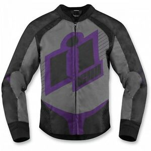 ICON OVERLORD 2 JACKET WOMEN /JAQUETTE DE MOTO OVERLORD 2 FEMMES