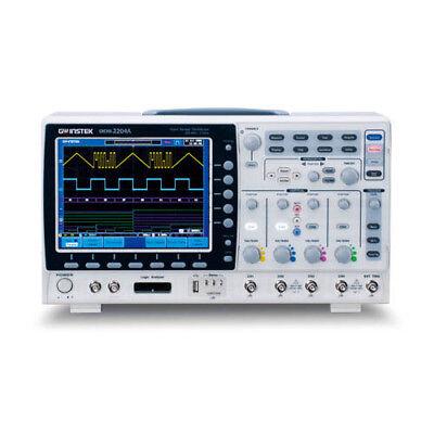 Instek Gds-2204a 200 Mhz 4-channel Digital Storage Oscilloscope