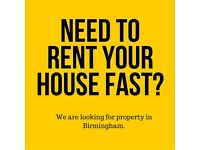 WE RENT HOUSES FAST! HASSLE FREE!