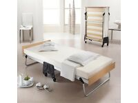 Jay Bee folding bed on wheels