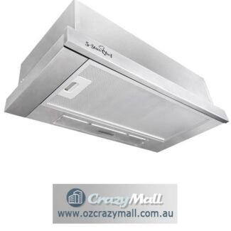 Slide-Out Canopy Stainless Steel Range Hood 60cm