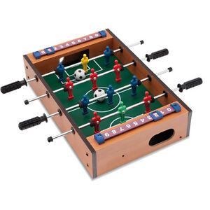 Mini gioco del calcio balilla biliardino da tavolo per bambini idea regalo new ebay - Calcio balilla da tavolo ...