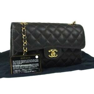Chanel Medium Flap Black Caviar