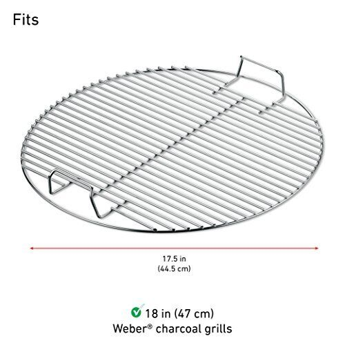 Grill Cooking Grate 18 Inch Replacement Fire Pit Round Grid