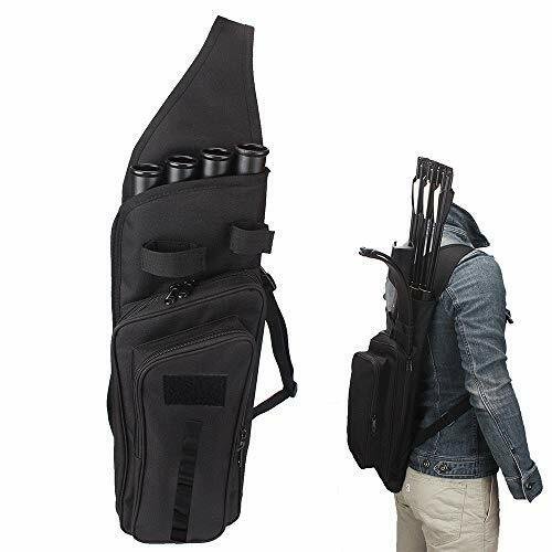 Outdoor Multi-Function No Tubes Back Field Quiver Training Archery Arrow Quiver
