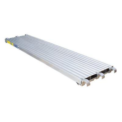 Cbm Scaffold 7 L X 19 14 W 75 Lbs Sq.ft All Aluminum Walk Board Deck Platform