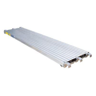 Cbm Scaffold 7 L X 19 14 W 75 Lbs Sq.ft All Aluminum Walk Board Deck Platform