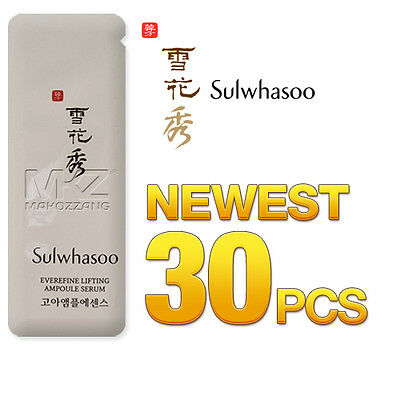 Sulwhasoo Everefine Lifting Ampoule Serum Goa Ampoule Anti-Wrinkle Amore Pacific