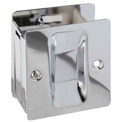 Chrome Pocket Door Hardware - National Hardware V1950 Pocket Door Pull in Chrome