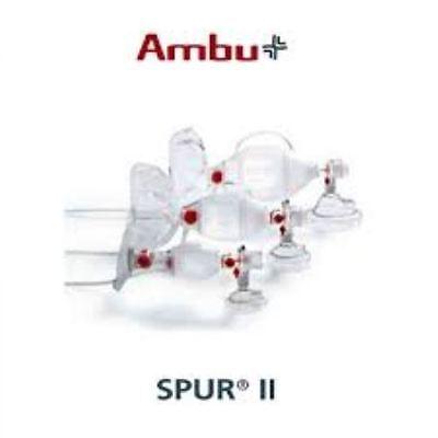 Ambu Spur Ii - Disposable Resuscitator Free Shipping