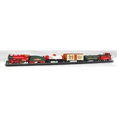 Bachmann 00724 HO-Scale Jingle Bell Express Christmas Train Set, w/ Steam Engine