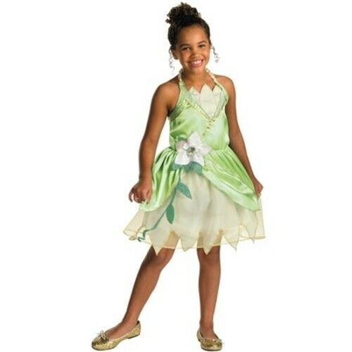DISGUISE LICENSED PRINCESS TIANA CHILD HALLOWEEN COSTUME SIZ