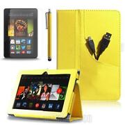 Kindle Fire Case Yellow