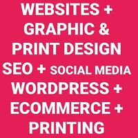 Professional Website and Graphic Design + Printing Services