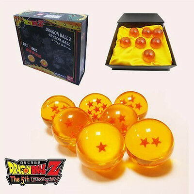 DragonBall Z Stars Set of 7pcs 4.5cm Replica Crystal Ball with Gift Box