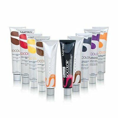 Matrix Socolor Permanent Cream Haircolor 3 oz (Choose Your Color)