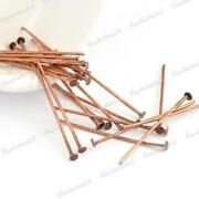 Antique Copper Head Pins