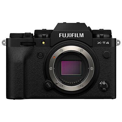 Fujifilm X-T4 Mirrorless 26.1MP 4K Fuji X T4 Digital Camera