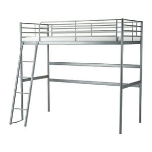 Loft bed frame (for a double size bed)
