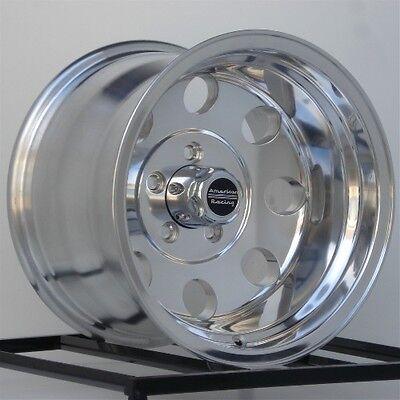 1- 15 Inch Wheels Rims American Racing Baja Polished AR1725185 15x10 5x5.5 Lug 15 Inch Polished American Racing