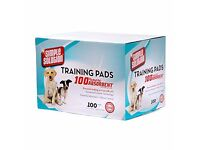 Simple Solution Training Pads, Pack of 100