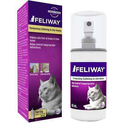 Feliway 60 ml SPRAY , No English Instruction, Cheapest on Ebay!!!