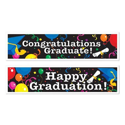 Graduation Banners with Assorted Designs