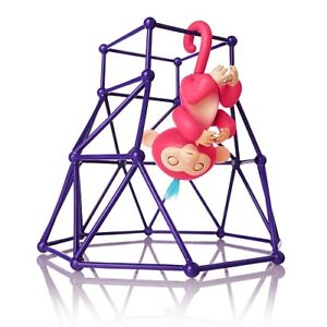 WowWee Fingerlings Playset -Small JungleGym w/1 Monkey REDUCED!!