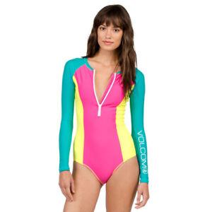 065706261e Volcom Simply Solid Bodysuit Womens Beachwear Swim Costume - Scream ...