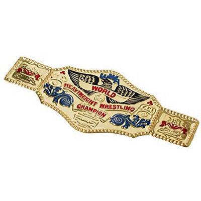 World Wrestling Championship Gürtel Kostüm Zubehör Wwf Wwe Wrestler Gold