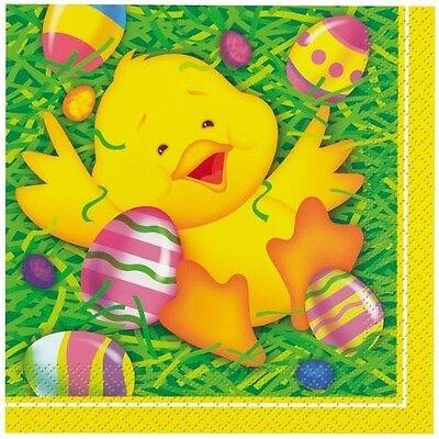 Easter Ducky Beverage Napkins