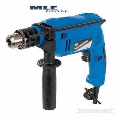 Silverline DIY 500W Compact Hammer Drill power tool DIY Corded 265897