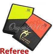 Referee Cards