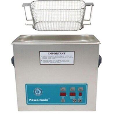 Crest P500d-45 Ultrasonic Cleaner W Power Control-mesh Basket