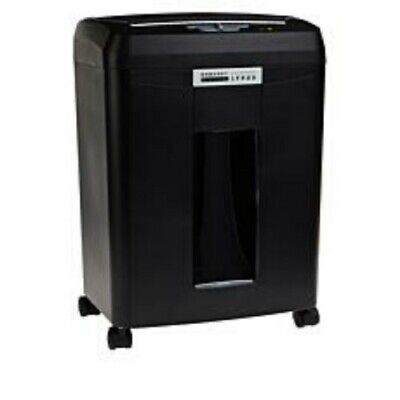 Embassy 9-sheet Microcut Paper Shredder With Auto Feed-black