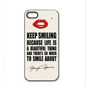 Marilyn Monroe Quote iPhone 4 Case