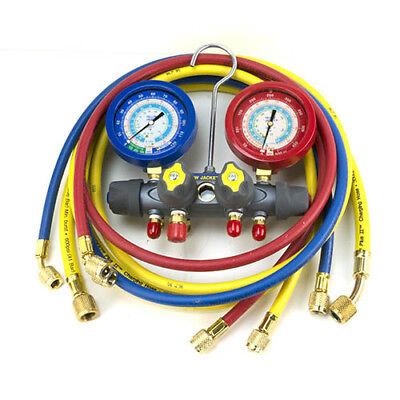 Yellow Jacket 49997 Titan 4-valve Test Charge Manifoldfc