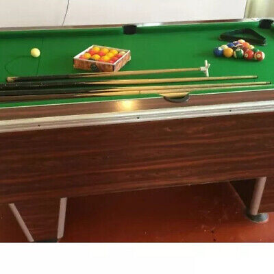 slate bed pool /snooker table 7ft
