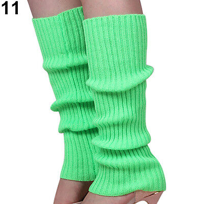 Neon Stulpen Beinstulpen Winter Warm Legwarmer Beinwärmer Kostüm Party-FAST SHIP