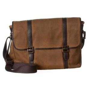 b4d6bb11d143 Fossil Canvas Messenger Bag