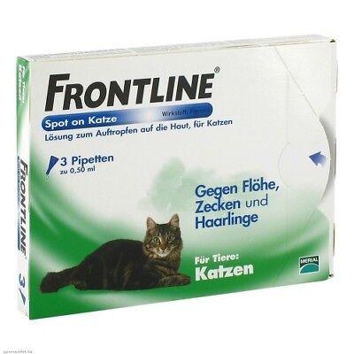 FRONTLINE Spot on K Lösung f.Katzen 3St PZN 00662907