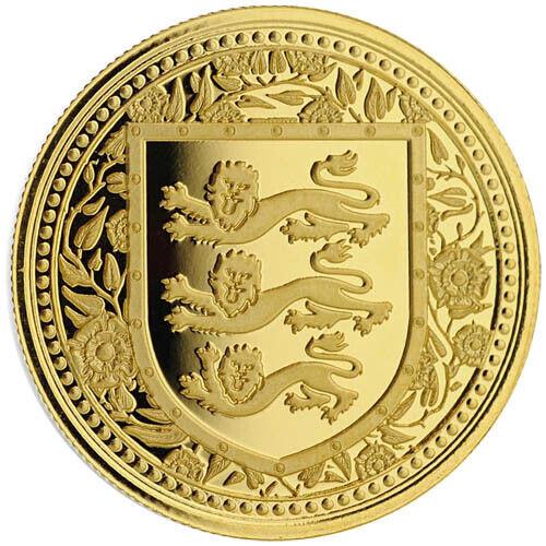 2018 1 oz British Royal Arms of England Gibraltar Gold Coin (BU)