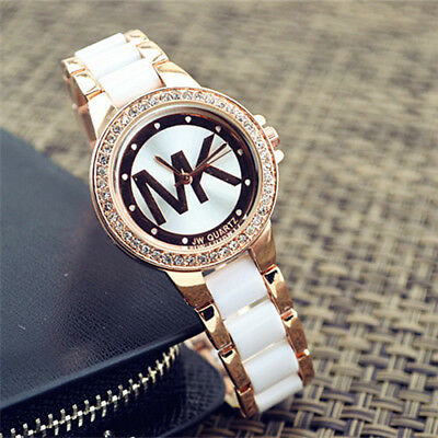 Fashion Jewerly women lady diamond quartz stainless steel wrist watch