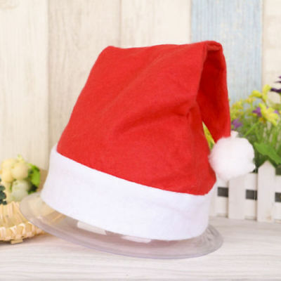 Deluxe Father Christmas Hat Xmas Santa Fancy Dress Costume Gift idea
