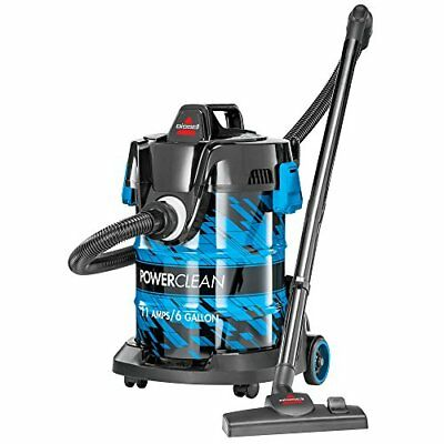 Bissell PowerClean Wet/Dry Utility Garage Vacuum Cleaner, 2035A, Blue TAXFREE