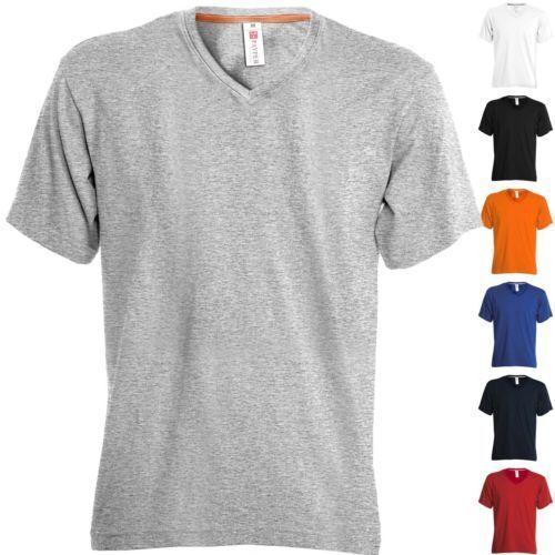 T Shirt V NECK Payper Scollo V Manica Corta Uomo Cotone Maglietta